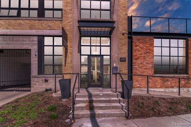 460 W Canfield St #104, Detroit, MI 48201 (#2210021386) :: The BK Agency