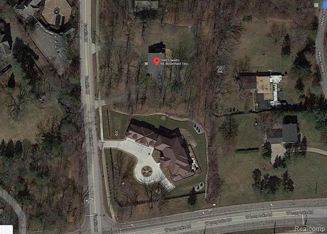 3949 Franklin Road, Bloomfield Twp, MI 48302 (#2210022239) :: The Merrie Johnson Team