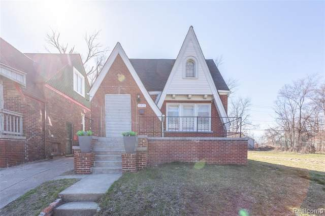 16853 Prairie Street, Detroit, MI 48221 (MLS #2210022397) :: The John Wentworth Group