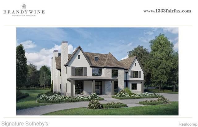 1333 Fairfax Street, Birmingham, MI 48009 (#2210022529) :: Duneske Real Estate Advisors