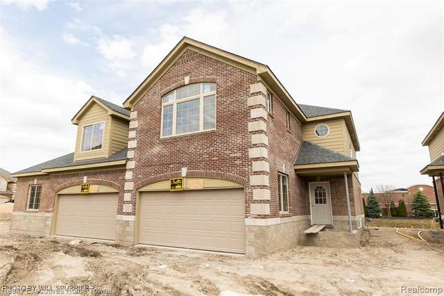 53194 Celtic Court, Shelby Twp, MI 48315 (#2210022694) :: The Alex Nugent Team   Real Estate One