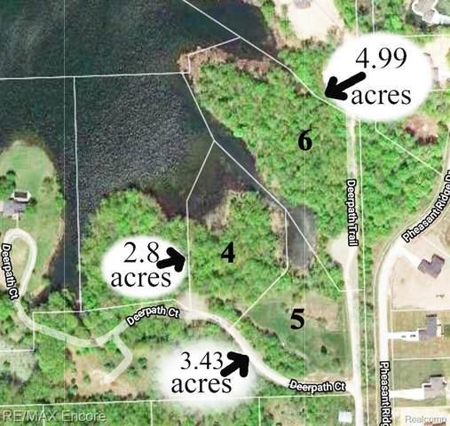 0000 Deer Path Lot 4 Court, Brandon Twp, MI 48462 (MLS #2210022837) :: The John Wentworth Group