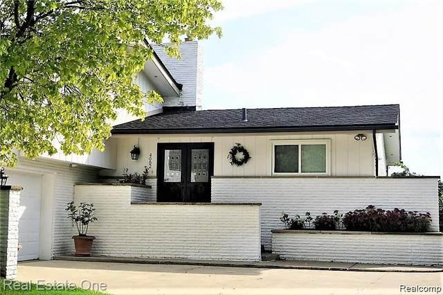 4062 Golf Ridge Drive E, Bloomfield Twp, MI 48302 (#2210023099) :: RE/MAX Nexus