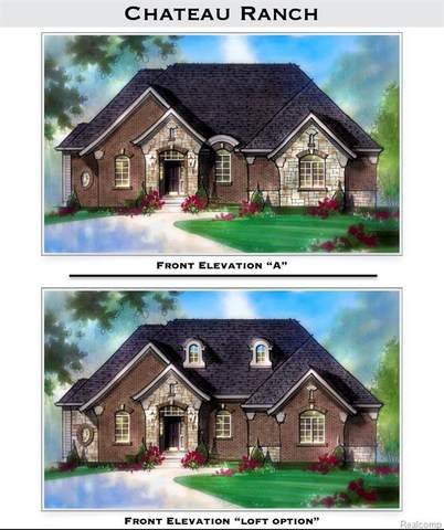 49551 White Mill Drive, Shelby Twp, MI 48317 (#2210023384) :: Real Estate For A CAUSE