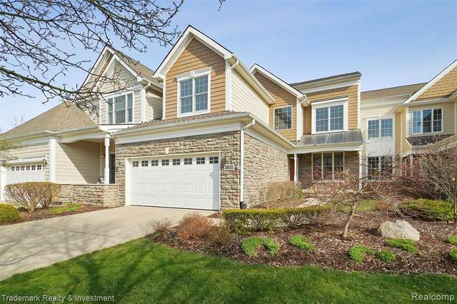 26055 Island Lake Drive, Novi, MI 48374 (#2210023410) :: GK Real Estate Team