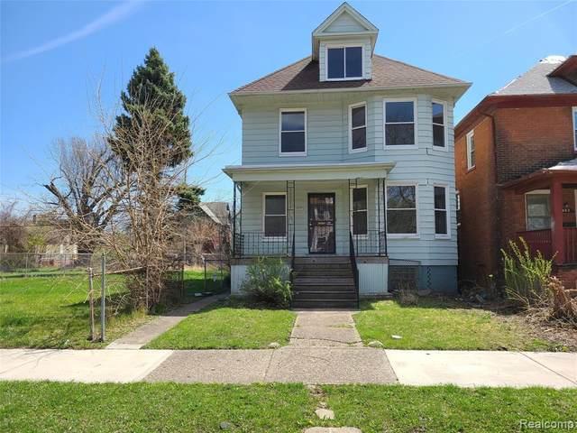 408 Melbourne Street, Detroit, MI 48202 (#2210023415) :: The Alex Nugent Team | Real Estate One