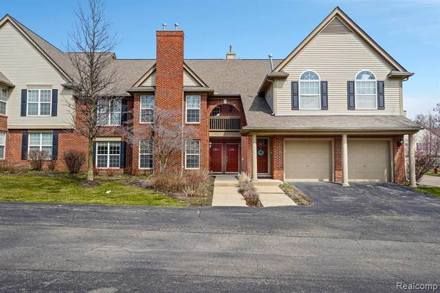 28185 Carlton Way Drive, Novi, MI 48377 (#2210023483) :: GK Real Estate Team