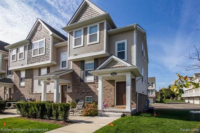 4640 Bradley Circle # 11, Troy, MI 48085 (#2210023602) :: GK Real Estate Team