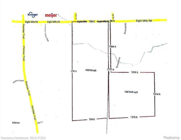 60001 8 Mile Road, Salem Twp, MI 48175 (#2210023898) :: GK Real Estate Team