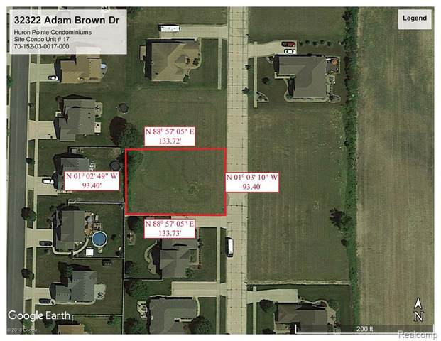 32322 Adam Brown Drive, Brownstown Twp, MI 48173 (#2210024038) :: Novak & Associates