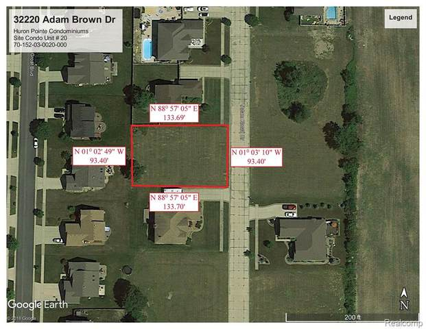 32220 Adam Brown Drive, Brownstown Twp, MI 48173 (#2210024042) :: Novak & Associates