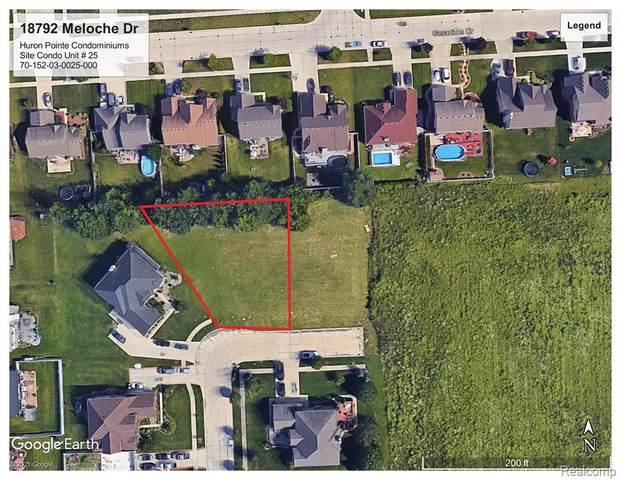 18792 Meloche Drive, Brownstown Twp, MI 48173 (#2210024043) :: Novak & Associates