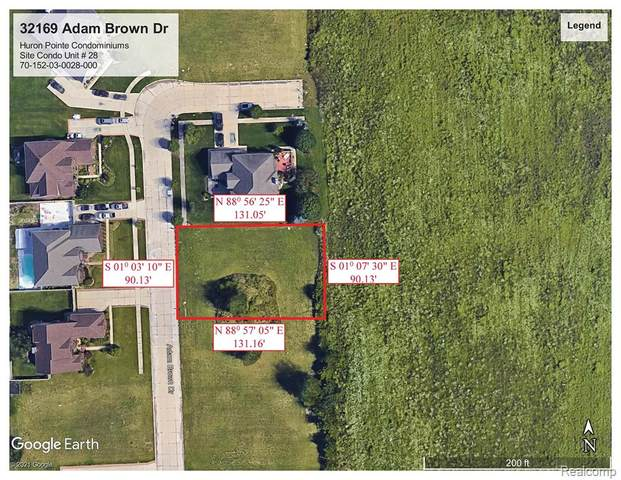 32169 Adam Brown Drive, Brownstown Twp, MI 48173 (#2210024047) :: Novak & Associates