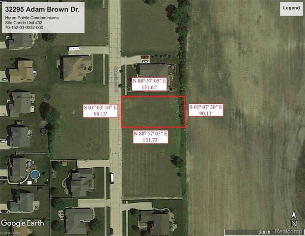 32295 Adam Brown Drive, Brownstown Twp, MI 48173 (#2210024050) :: Novak & Associates