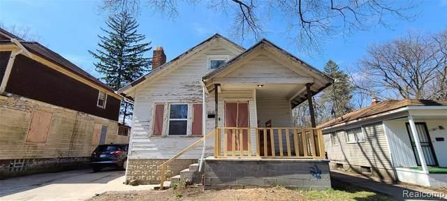 15859 Westbrook Street, Detroit, MI 48223 (#2210024064) :: The BK Agency