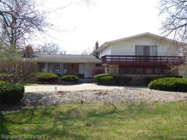 22461 Heathersett, Farmington Hills, MI 48335 (#2210024424) :: GK Real Estate Team