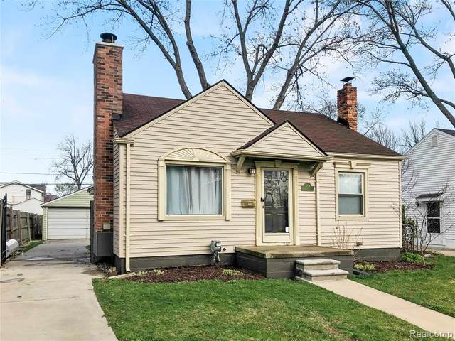 3796 Prairie Avenue, Berkley, MI 48072 (MLS #2210024433) :: The John Wentworth Group