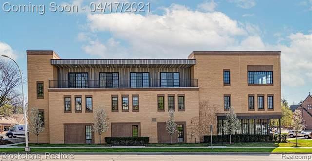 804 N Main St # 2H 2G/H, Rochester, MI 48307 (#2210024437) :: Duneske Real Estate Advisors