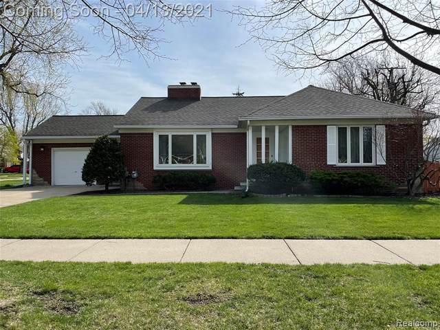 13145 Oakdale Street, Southgate, MI 48195 (#2210024619) :: GK Real Estate Team