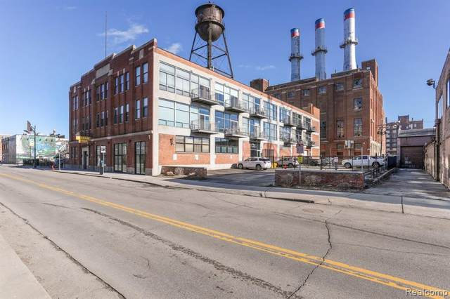 55 W Canfield Street #307, Detroit, MI 48201 (#2210024871) :: Robert E Smith Realty