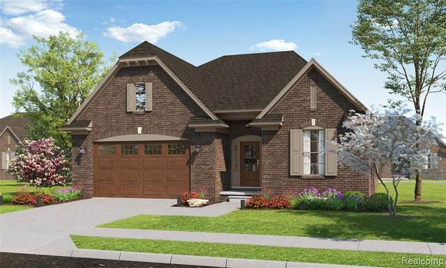 55172 Hanford Court, Shelby Twp, MI 48316 (MLS #2210024909) :: The John Wentworth Group