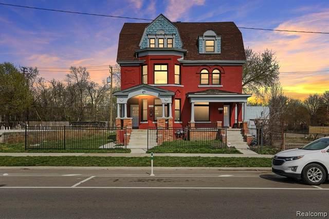 4116 Trumbull Street Lower, Detroit, MI 48208 (#2210024913) :: Duneske Real Estate Advisors