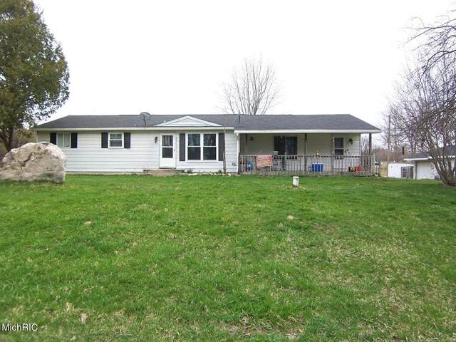 8192 W Stevenson Lake Road, Coldwater Twp, MI 48632 (#72021011826) :: The Merrie Johnson Team