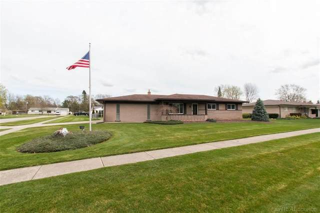 48688 Stanford, Shelby Twp, MI 48317 (MLS #58050038675) :: The John Wentworth Group