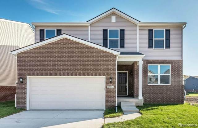 51363 Kirby Drive, Chesterfield Twp, MI 48047 (#2210025156) :: Real Estate For A CAUSE