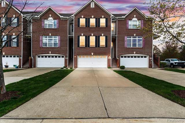 43842 Cherry Grove Court E, Canton Twp, MI 48188 (#2210025243) :: Real Estate For A CAUSE