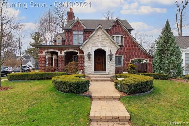 517 Kimberley Road, Birmingham, MI 48009 (#2210025631) :: The Alex Nugent Team   Real Estate One