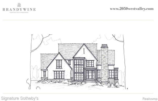 2050 W Valley Road, Bloomfield Hills, MI 48304 (#2210025637) :: The Alex Nugent Team | Real Estate One