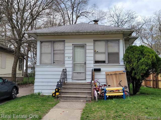33 Pingree Avenue, Pontiac, MI 48342 (#2210025793) :: Real Estate For A CAUSE