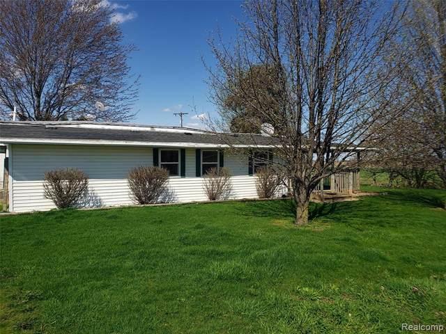 4950 S Meridian Road, Porter Twp, MI 48637 (#2210025838) :: The Alex Nugent Team | Real Estate One