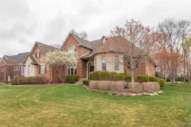 23743 Point O Woods Ct, Lyon Twp, MI 48178 (#2210025976) :: The Alex Nugent Team | Real Estate One
