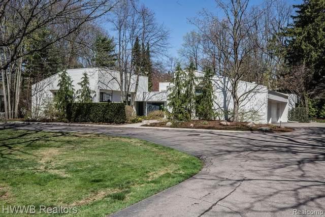 305 Pine Ridge Drive, Bloomfield Hills, MI 48304 (#2210026024) :: GK Real Estate Team