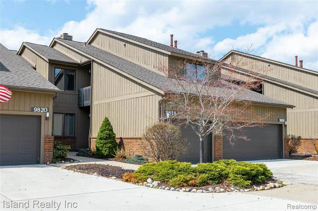 9818 Hawthorn Glen #16, Grosse Ile Twp, MI 48138 (#2210026090) :: Real Estate For A CAUSE