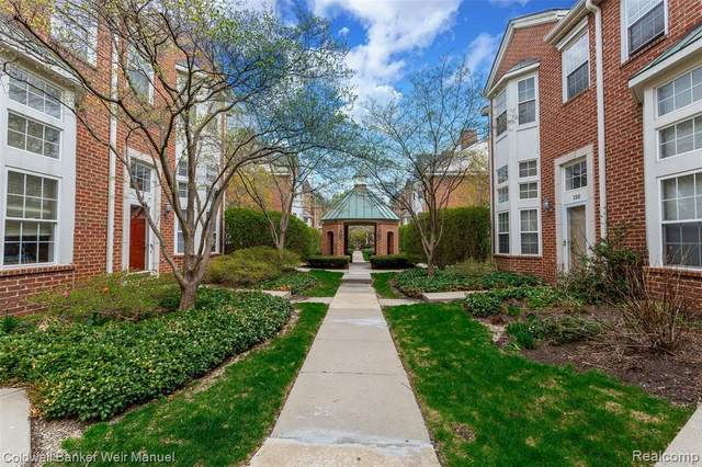 162 S Georgetown Square #77, Royal Oak, MI 48067 (#2210026147) :: Real Estate For A CAUSE