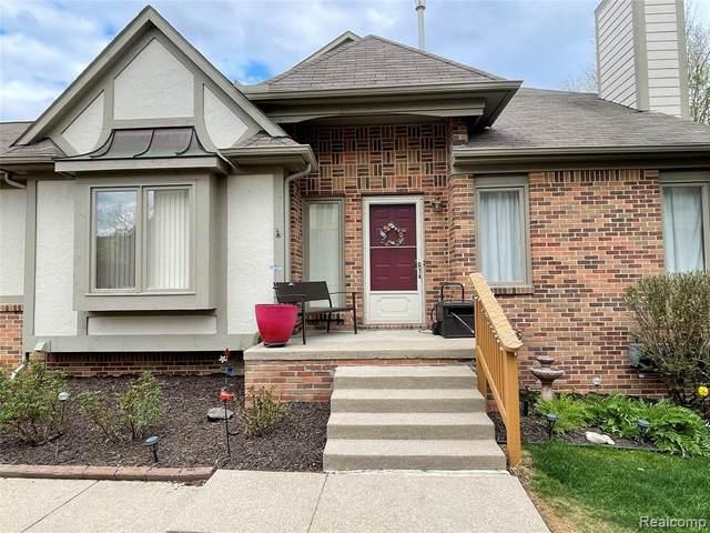 42089 Saratoga Circle, Canton Twp, MI 48187 (#2210026187) :: Real Estate For A CAUSE