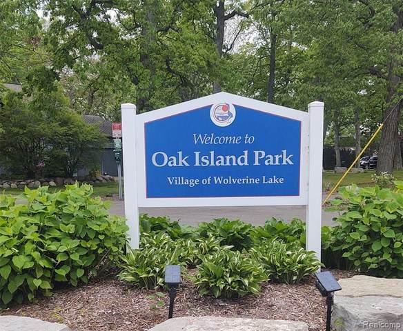 000 Oak Island Drive Drive N, Wolverine Lake Vlg, MI 48390 (#2210026327) :: Alan Brown Group
