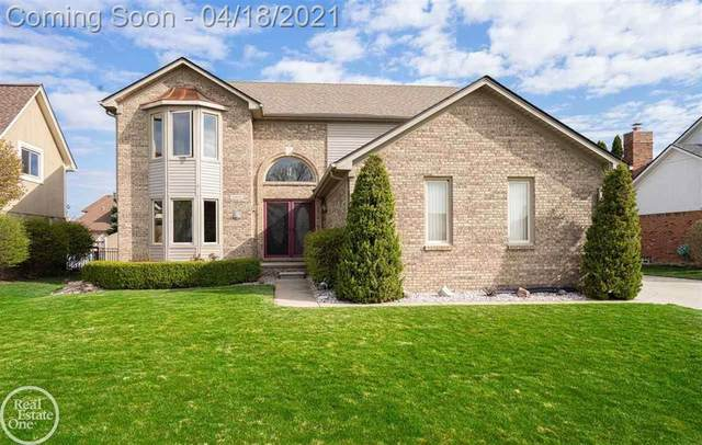 16845 Tower Drive, Macomb Twp, MI 48044 (#58050039045) :: The Alex Nugent Team | Real Estate One