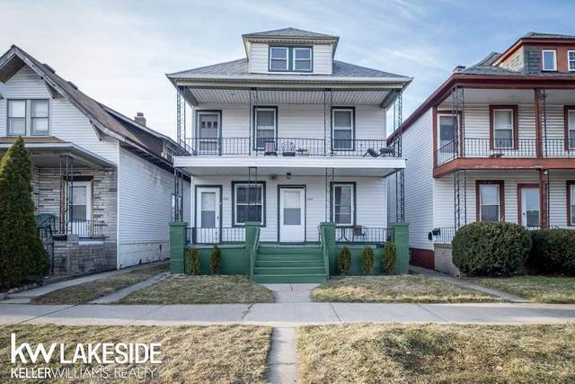 2361 Casmere, Hamtramck, MI 48212 (#58050039064) :: The Alex Nugent Team | Real Estate One
