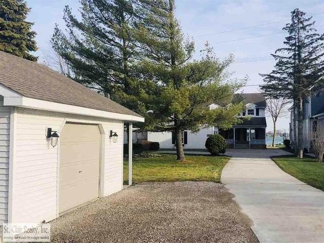 5619 Pointe Dr, East China Twp, MI 48054 (#58050039068) :: The Alex Nugent Team | Real Estate One