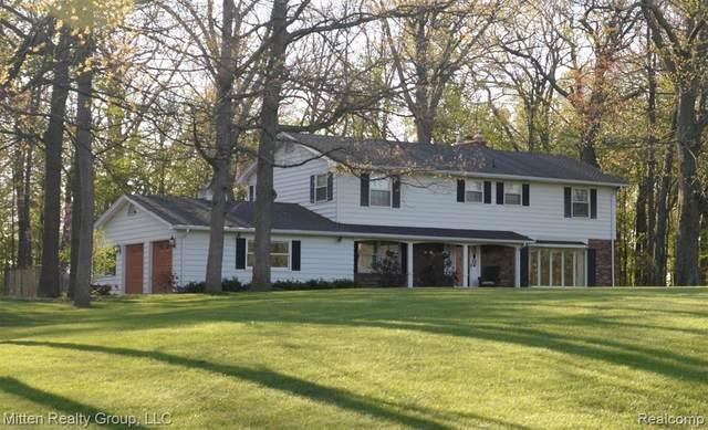 5975 Ludwig Road, Metamora Twp, MI 48371 (#2210026471) :: Real Estate For A CAUSE