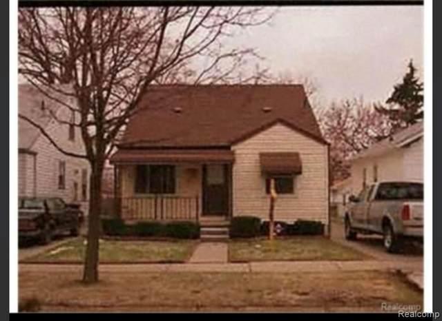 6456 Heyden Street, Detroit, MI 48228 (#2210026595) :: Alan Brown Group
