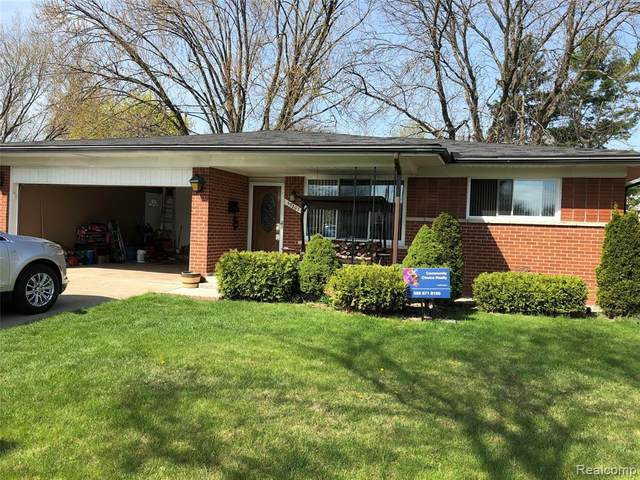 35807 Bonneville Drive, Sterling Heights, MI 48312 (#2210026802) :: The Alex Nugent Team | Real Estate One