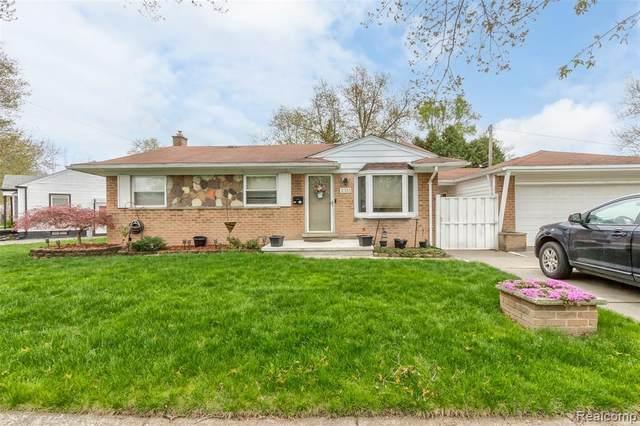 2151 Richmond Avenue, Lincoln Park, MI 48146 (#2210026808) :: The Alex Nugent Team | Real Estate One