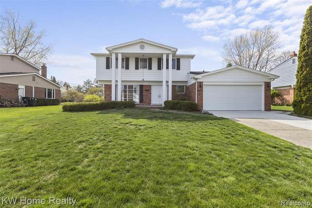 2540 Dorfield Drive, Rochester Hills, MI 48307 (#2210026855) :: Real Estate For A CAUSE