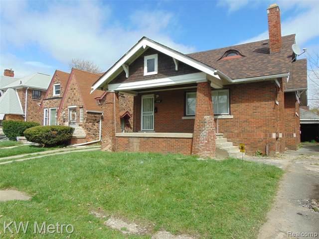 13108 Manor, Detroit, MI 48238 (#2210027031) :: Robert E Smith Realty