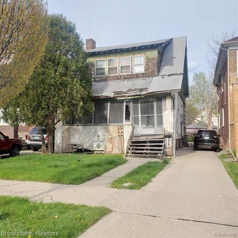 412 Philip Street E, Detroit, MI 48215 (#2210027244) :: Robert E Smith Realty